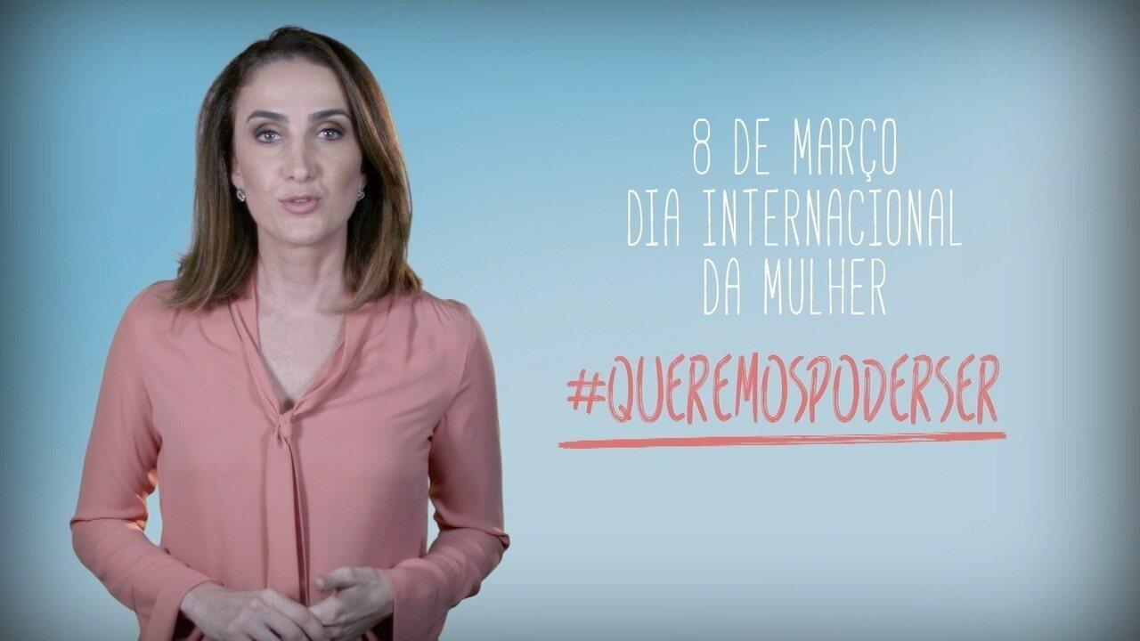 Homenagem da TV Verdes Mares ao Dia Internacional da Mulher