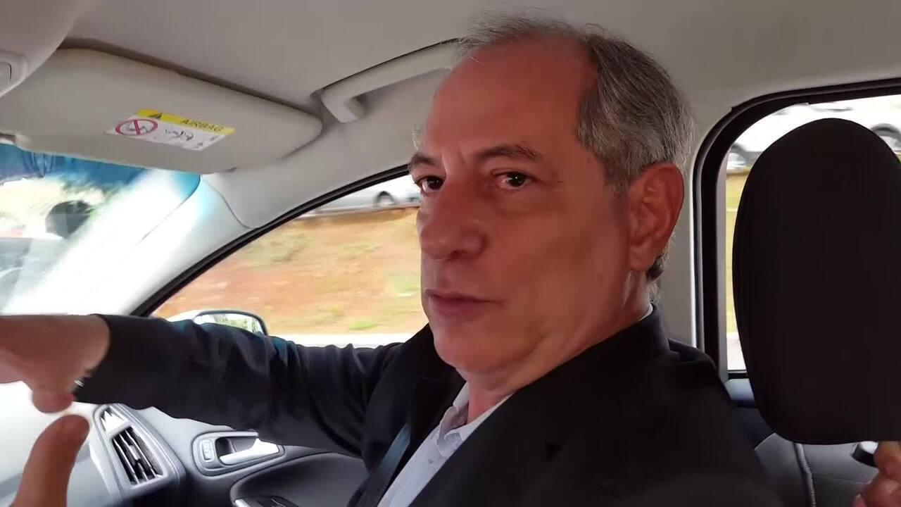 'Nos últimos 16 anos eu ajudei o Lula, isso é uma vida', diz Ciro Gomes