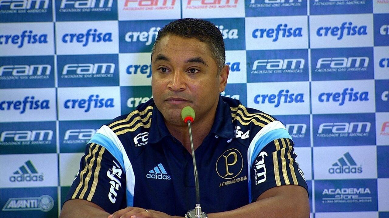 Veja a entrevista coletiva de Roger Machado, do Palmeiras, após a vitória sobre São Paulo