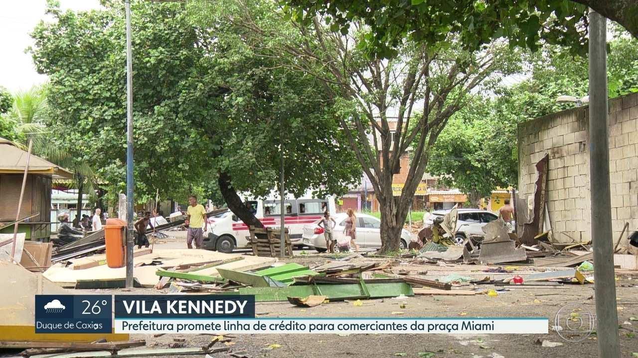 Prefeitura do Rio promete linha de crédito para comerciantes da praça Miami