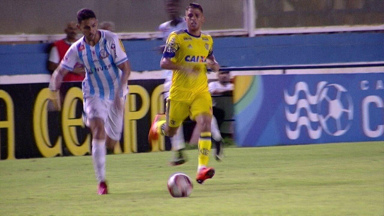 6b0ae2b37 Melhores momentos  Macaé 1 x 0 Flamengo pela 5ª rodada da Taça Rio