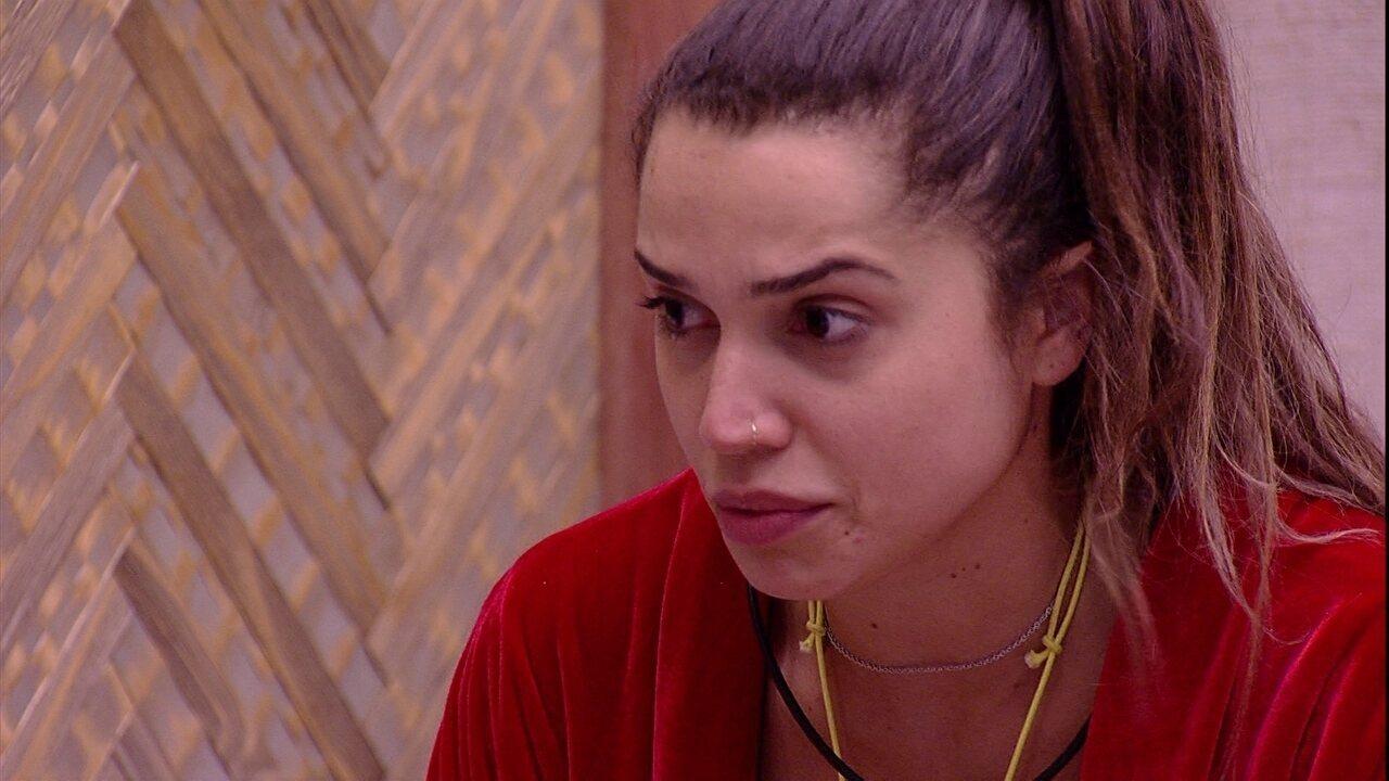 Paula sobre Patrícia: 'Eu tenho pé atrás'