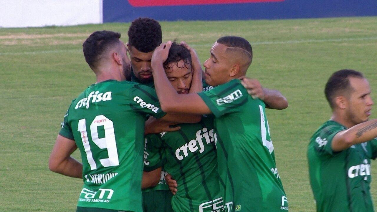 Reveja os gols de Ituano 0 x 3 Palmeiras, válido pelo Campeonato Paulista