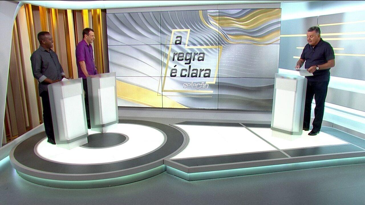 """""""A Regra é Clara"""" - Arnaldo Cezar Coelho estreia quadro no Seleção SporTV"""