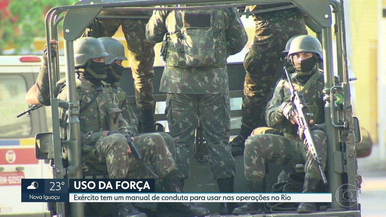 Exército começa a patrulhar diariamente a Vila Kennedy