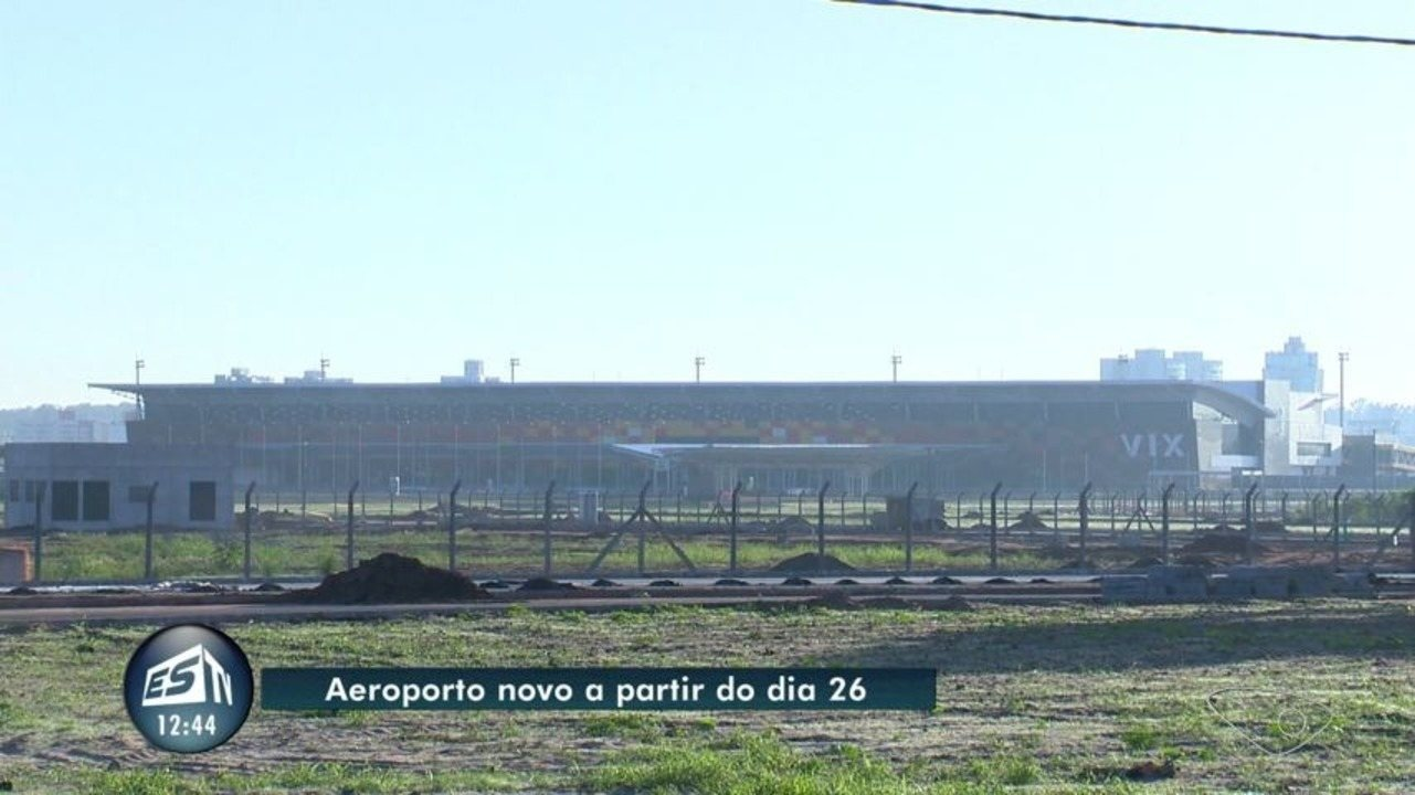 Aeroporto Vix : Aeroporto de vitória vai manter pista antiga para dias de forte