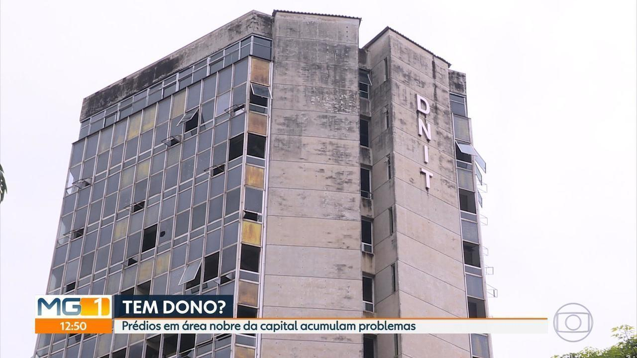Prédios abandonados levam medo a moradores da Região Centro-Sul de BH
