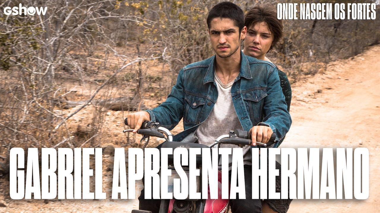 Gabriel Leone apresenta Hermano, seu personagem em 'Onde Nascem os Fortes'