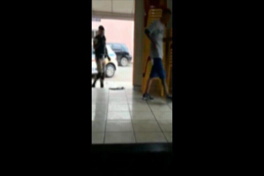 G1 recebeu vídeo de internauta que preferiu não se identificar