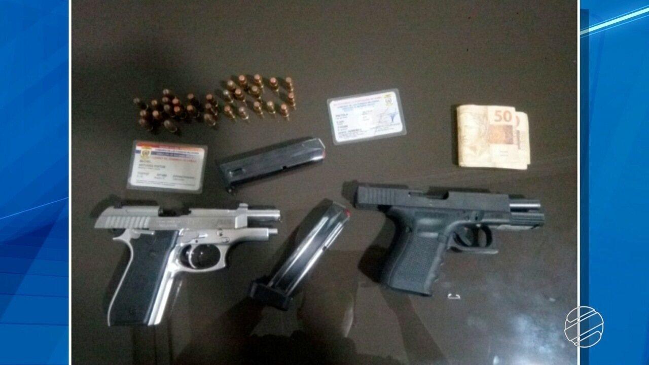 Policial flagrado com oito armas deve passar por audiência de custódia em Campo Grande