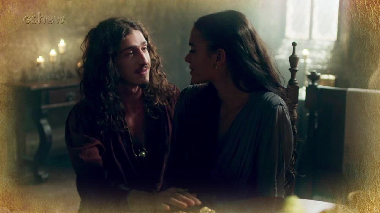 Resumo de 15/03: Catarina pede que Rodolfo deixe Lucrécia