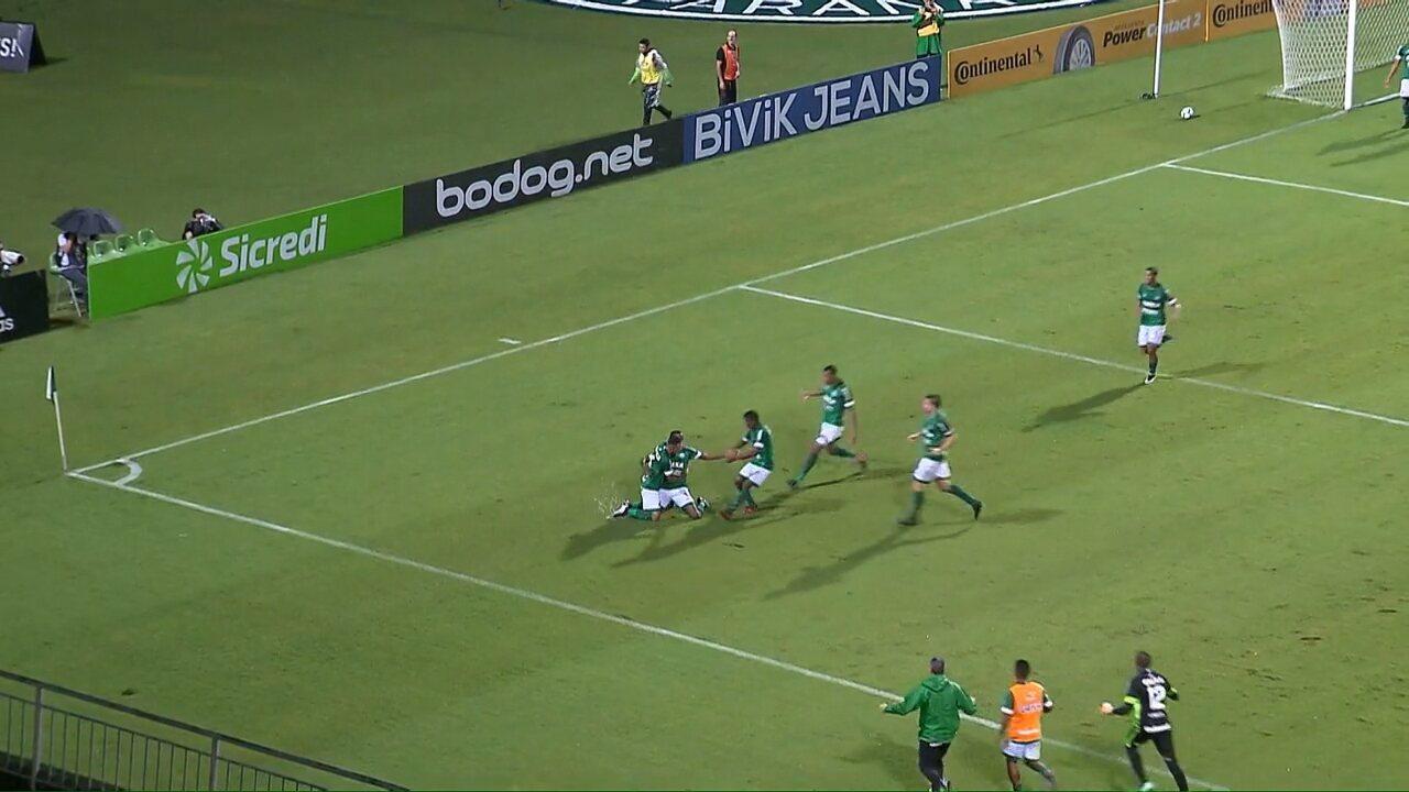 Veja os melhores momentos de Coritiba 1x1 Goiás, pela terceira fase da Copa do Brasil