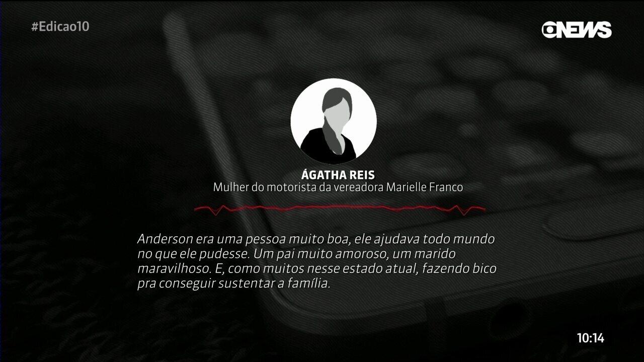 """""""Estava fazendo bico para sustentar a família"""", diz mulher de motorista morto no Rio"""