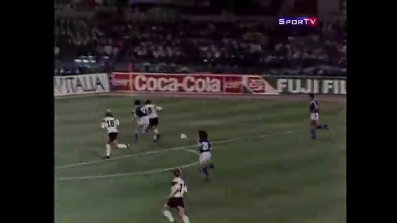 Erros de arbitragem: Alemanha vence Copa de 90 com gol de pênalti polêmico