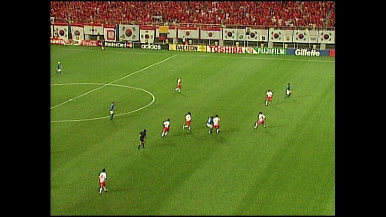 Erros de arbitragem: gol anulado de Tommasi, em 2002