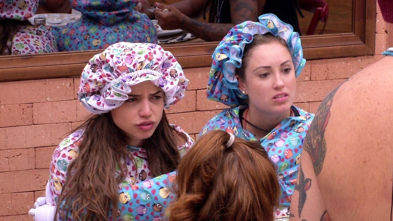 Sisters comentam visual de Kaysar: 'Que horror'