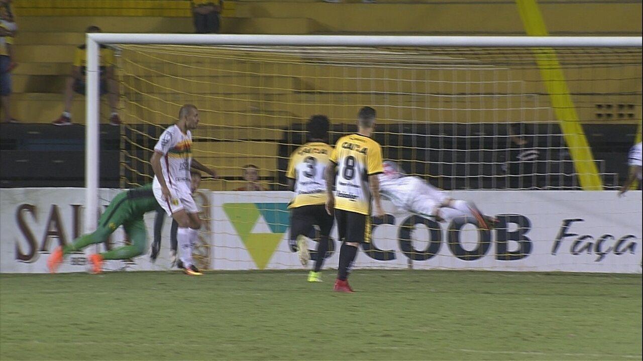 Gols de Criciúma 1 x 1 Brusque - Catarinense 2018