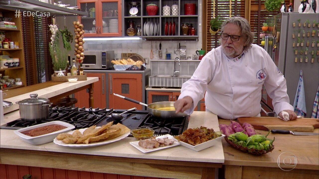 Chef Ravioli ensina receitas práticas