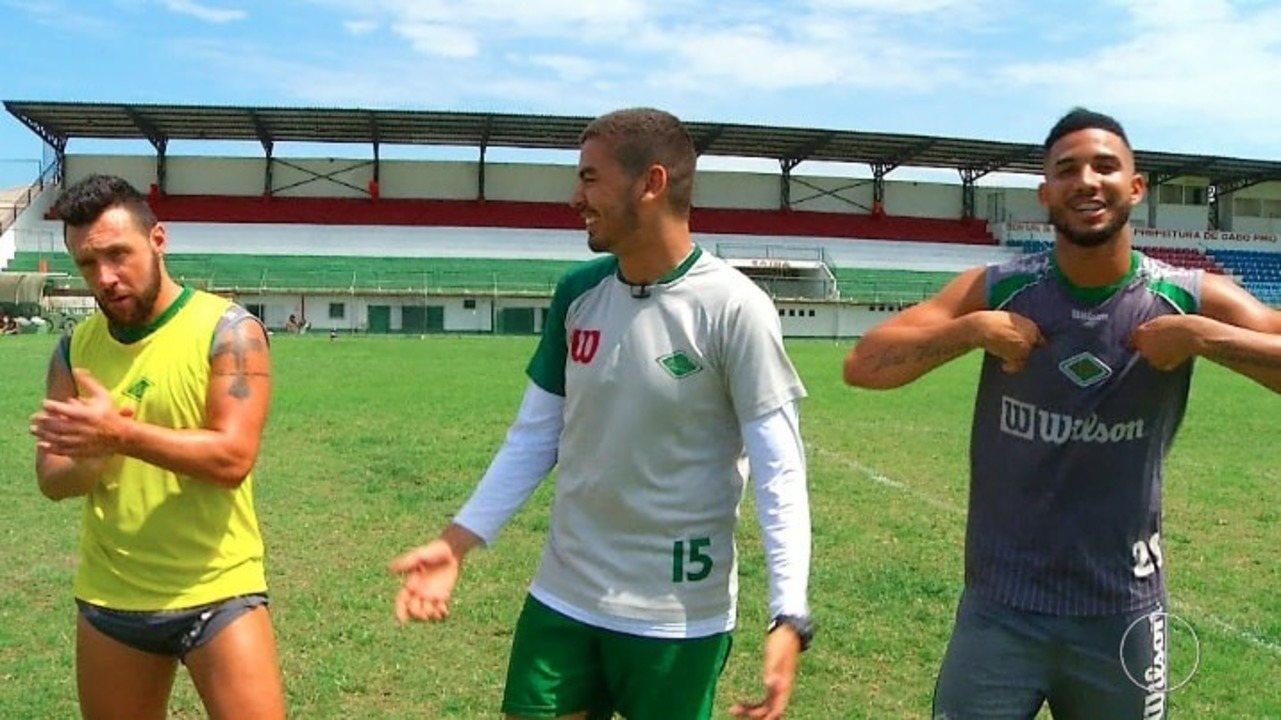 Desafio 10 e Faixa: teste de pontaria com Cláudio Pitbull e João Carlos, da Cabofriense