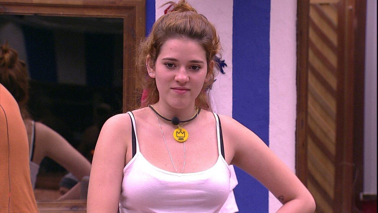 Ana Clara pede ideias de tatuagem para Wagner e Kaysar sugere: 'Tatua o meu nome'