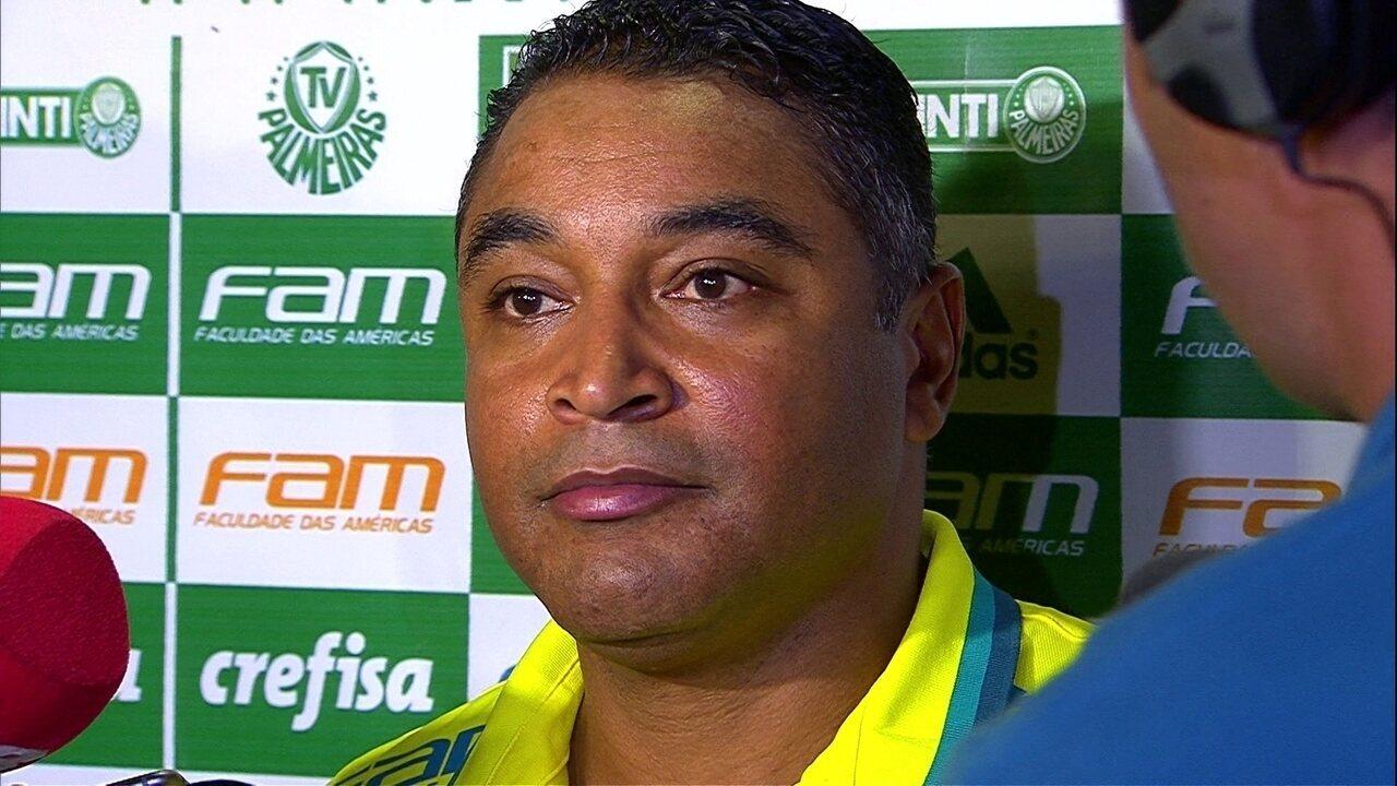Roger Machado analisa a vitória do Palmeiras sobre o Novorizontino