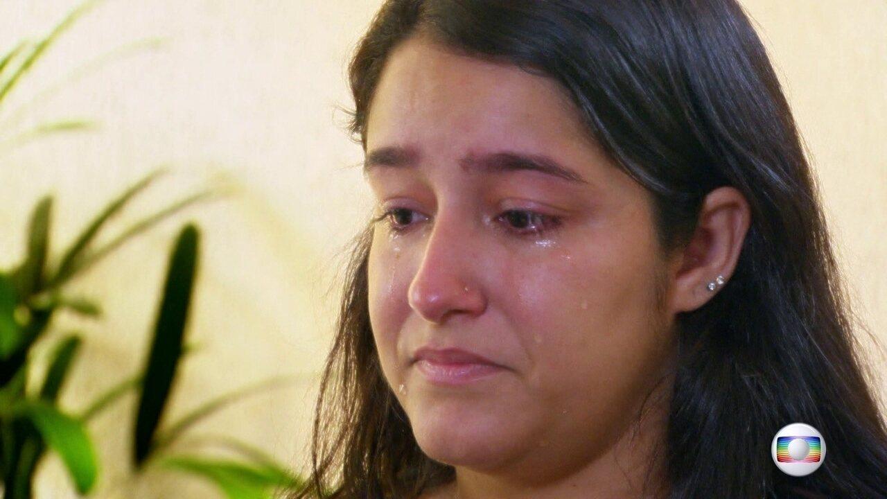 Viúva do motorista Anderson Gomes dá exemplo de força e esperança
