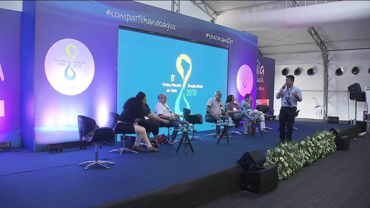 Futuro da água no planeta é debatido em fórum em Brasília