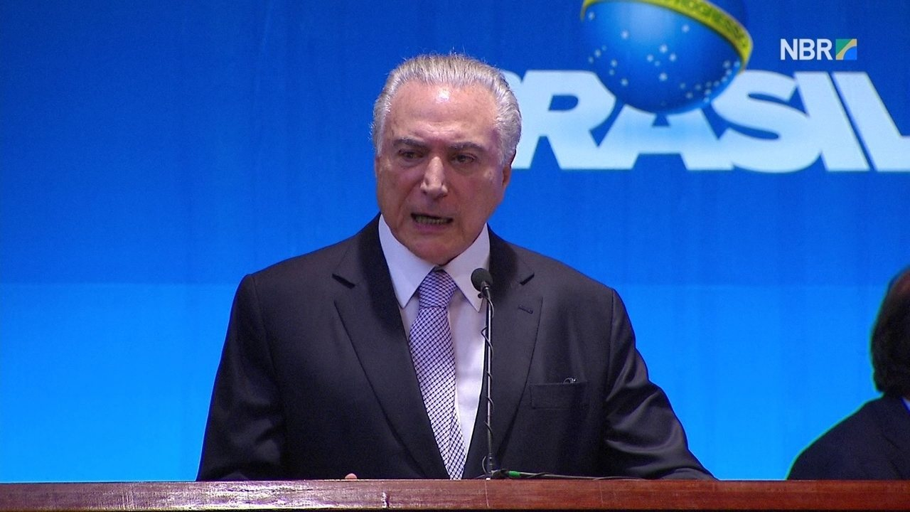Temer discursa na abertura do 8º Fórum Mundial da Água