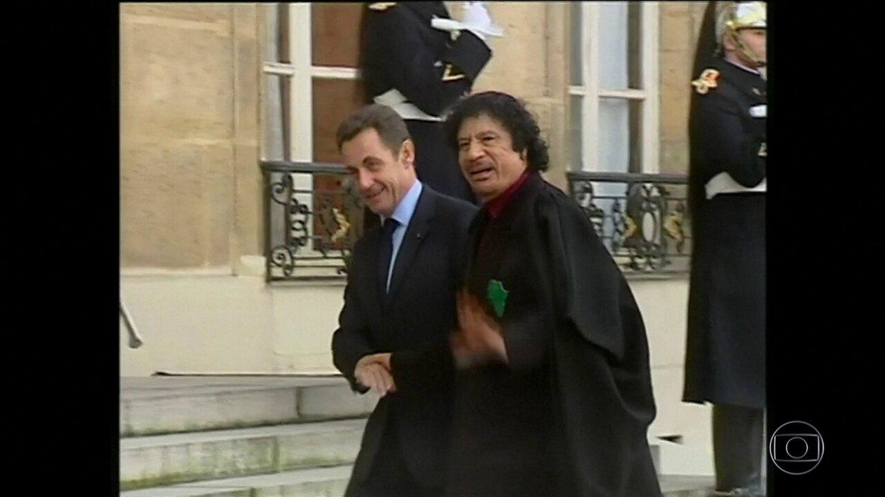 Ex-presidente da França, Nicolas Sarkozy, é detido pela polícia