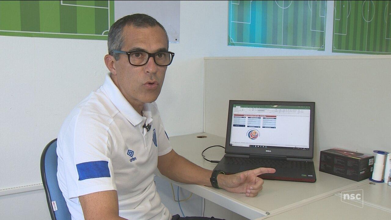 Analista do Avaí é convocado para observar adversários do Brasil na Copa 2018