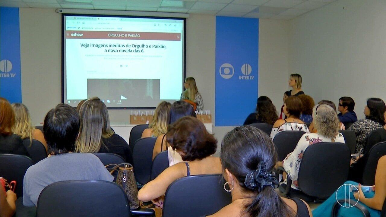 Empresárias de Cabo Frio, RJ, se reunem na sede da Inter TV nesta quarta