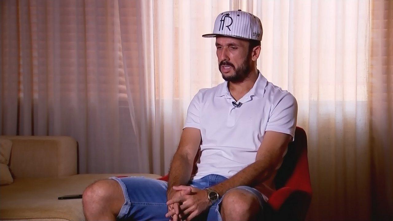 Após depressão, Thiago Ribeiro sonha com retorno ao futebol: