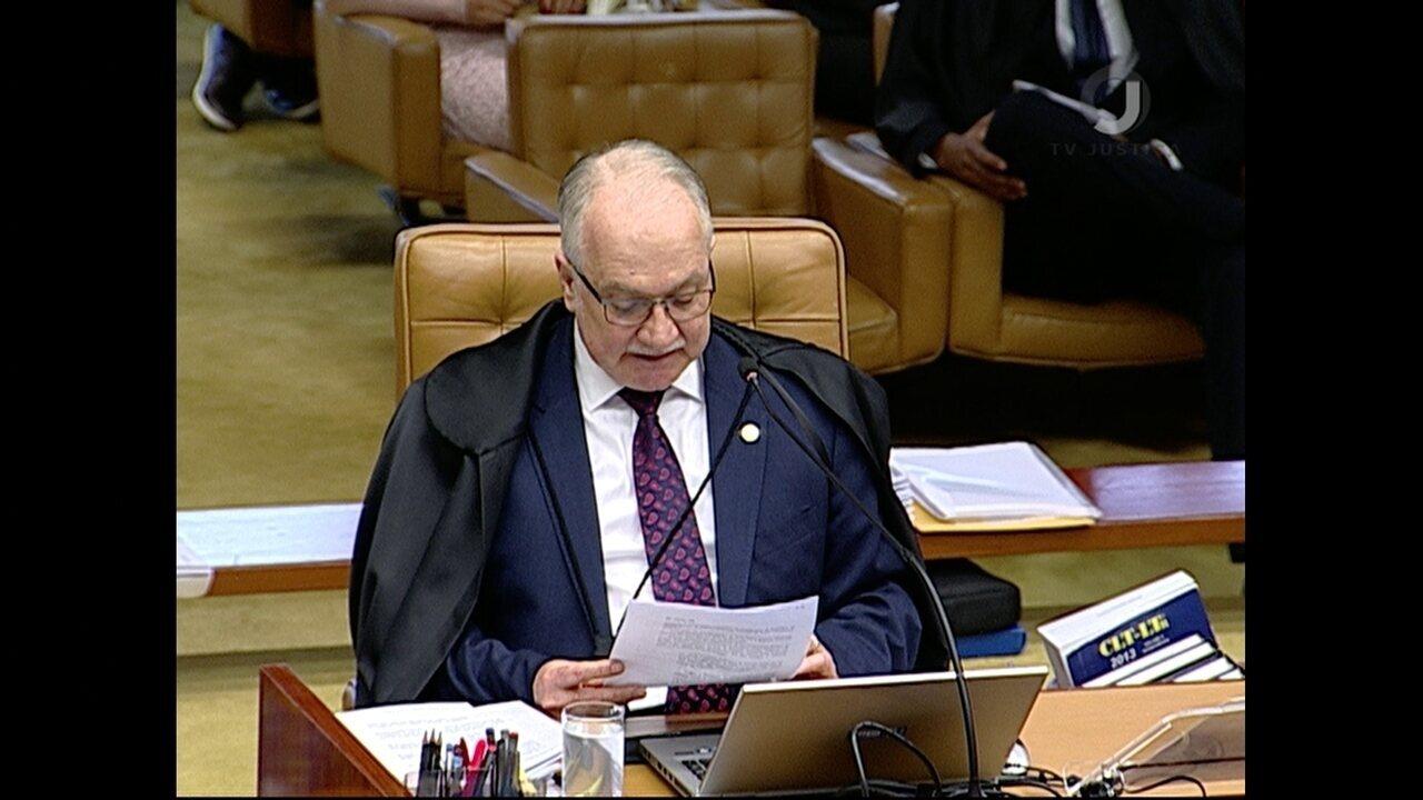 Luiz Edson Fachin vota em julgamento de pedido de habeas corpus de Lula no STF