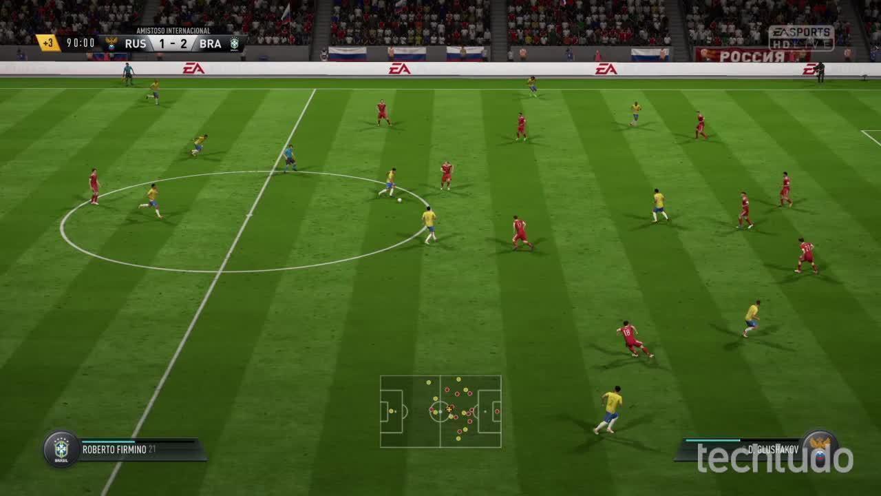 FIFA 18 - Simulação do Amistoso entre Brasil X Rússia