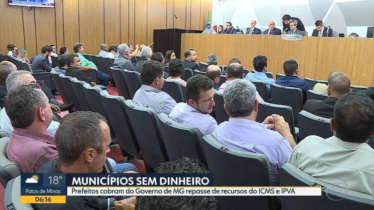 Governo de MG deve R$ 4,7 bilhões a prefeituras, diz Associação Mineira de Municípios