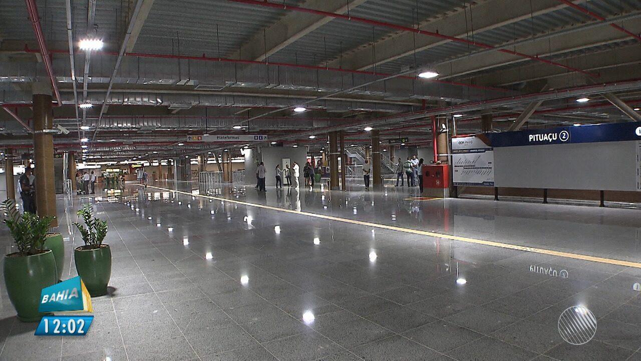 Estação Pituaçu é inaugurada na manhã desta sexta (23), em Salvador
