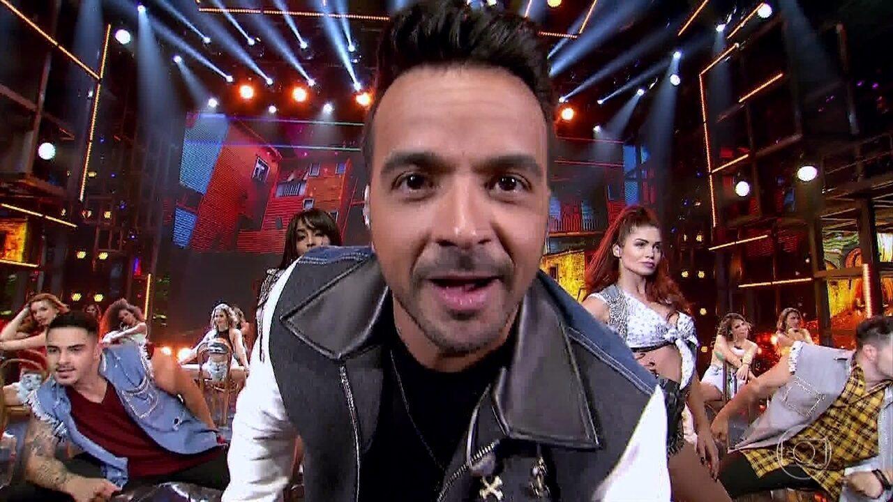 Luis Fonsi canta 'Despacito' no 'Ding Dong'