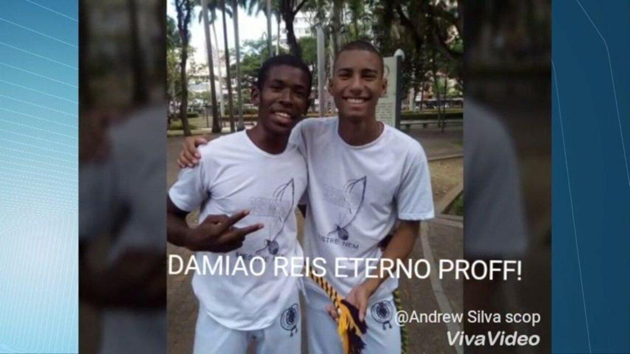 Alunos de jovem executado ao lado do irmão fazem vídeo de homenagem nas redes sociais