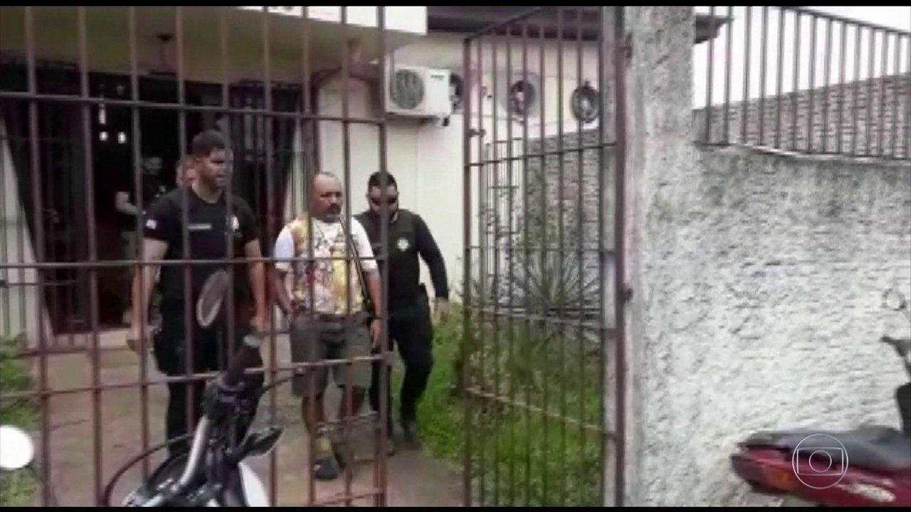 Polícia do Pará prendeu padre da Pastoral da terra, em Anapu.