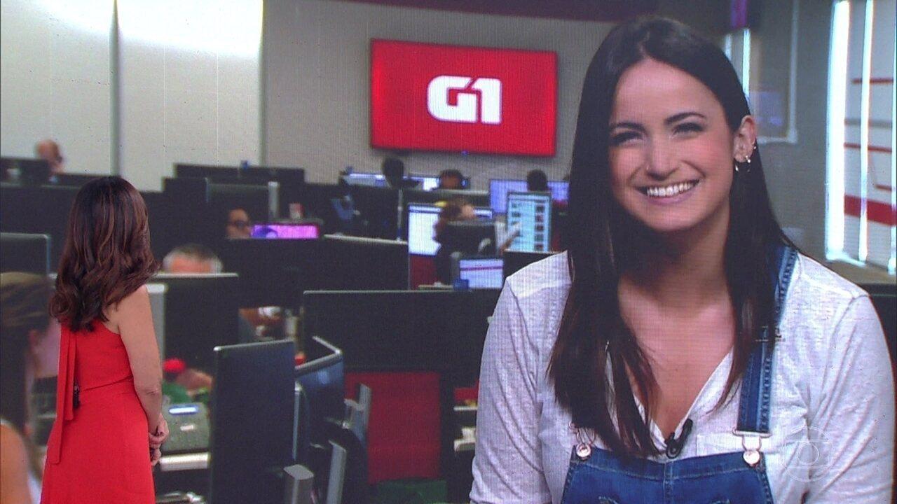 Mari Palma se emociona ao despedir de Fátima