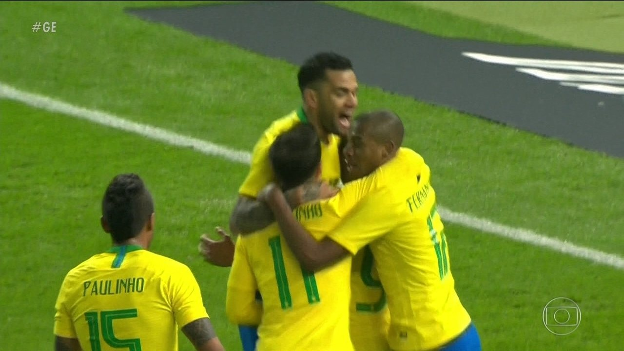 Brasil resgata a autoestima com vitória sobre a Alemanha em Berlim
