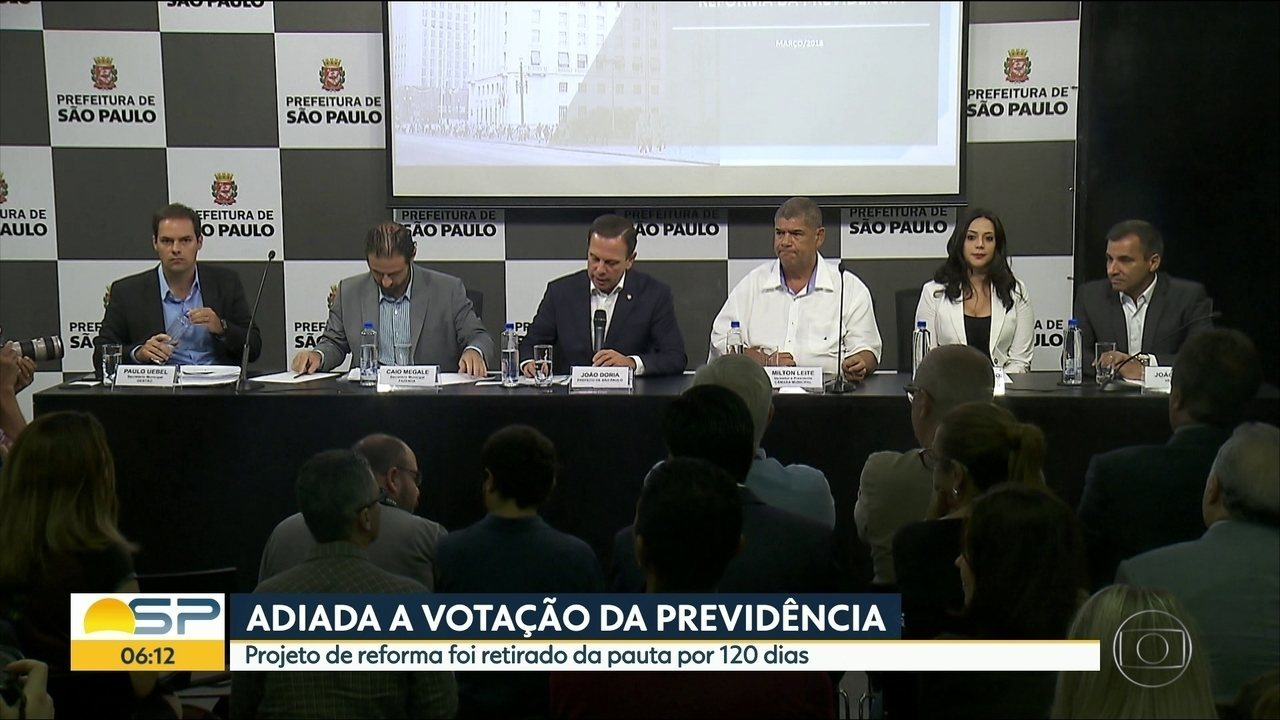 Votação da reforma da Previdência Municipal é adiada por 120 dias