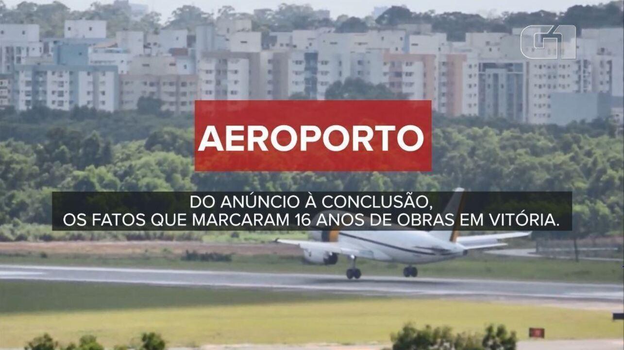 Aeroporto Vix : Aeroporto de vitória leva anos para ficar pronto custando mais