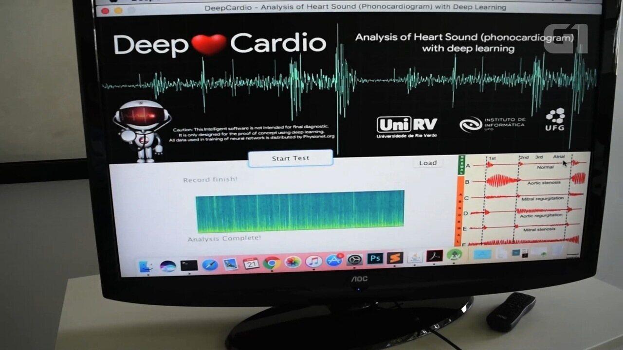 Após a morte do pai, professor cria aplicativo para apontar doenças cardíacas, em Goiás