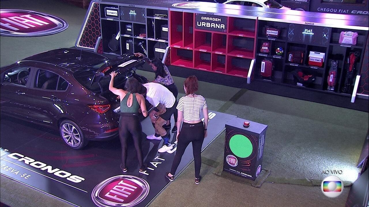 Brothers fazem rodada de teste para a Prova do Líder Fiat Cronos na Bagagem