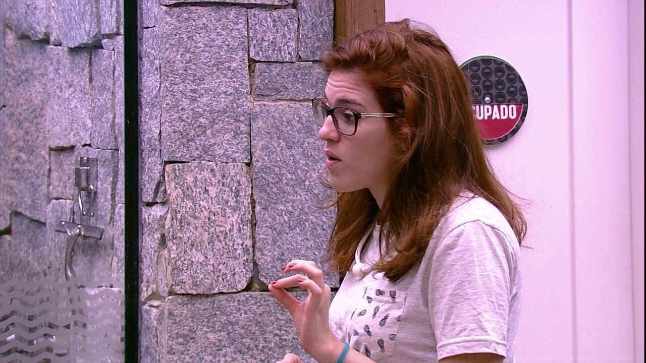 Ana Clara detona postura de Paula na Prova do Líder