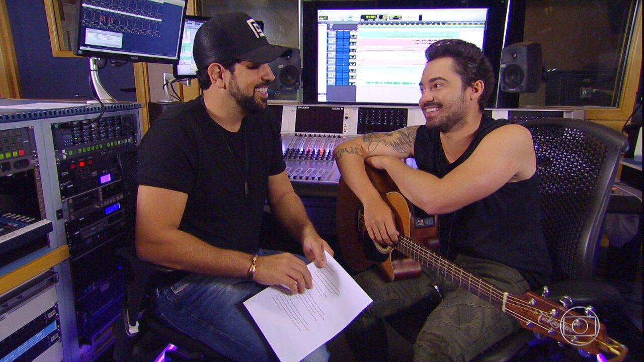 Fernando e Sorocaba surpreendem compositor no 'Essa Música É Minha'