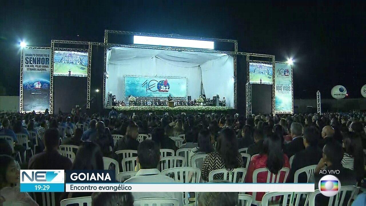 Evangélicos da Assembleia de Deus comemoram em Goiana 100 anos da igreja