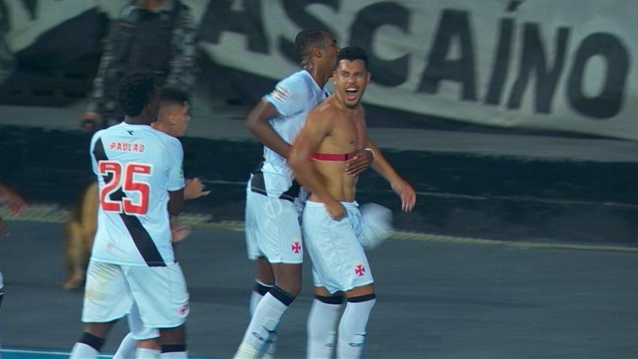 Gol do Vasco! Andrés Rios pega bonito e faz o gol da vitória aos 48 do 2º tempo