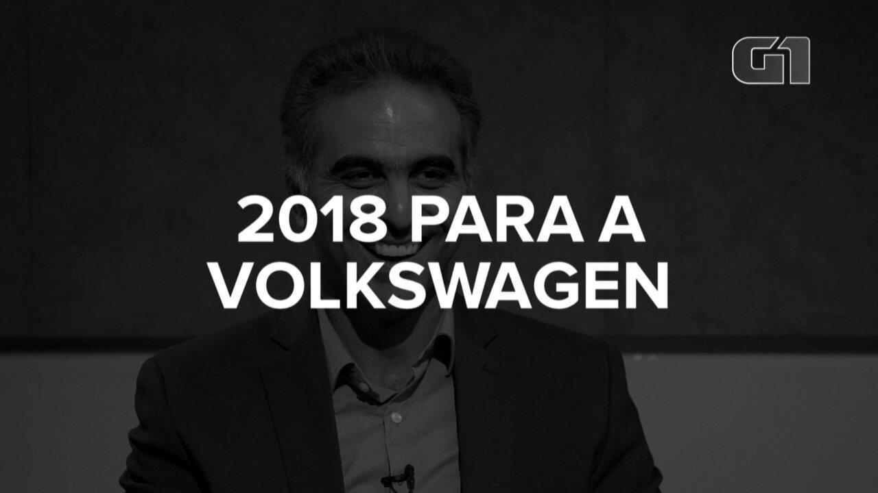 Presidente da Volkswagen fala sobre 2018 para a empresa